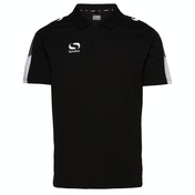 Sondico Venata Polo Shirt Adult Small Black/Charcoal/White