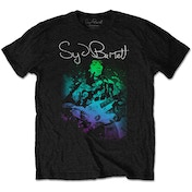 Syd Barrett - Psychedelic Men's XX-Large T-Shirt - Black
