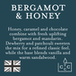 Bergamot & Honey (Pastel Collection) Glass Country Candle - Image 3