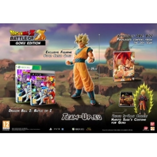 Dragon Ball Z Battle of Z Goku Edition Game Xbox 360