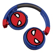 Lexibook HPBT010SP Spider-Man Bluetooth & Wired Foldable Headphones