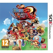 One Piece Unlimited World Red Straw Hat Edition 3DS Game