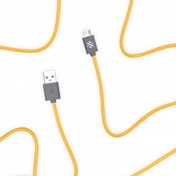 Swipe Link - Micro Charge & Sync Cable 1m - Yellow