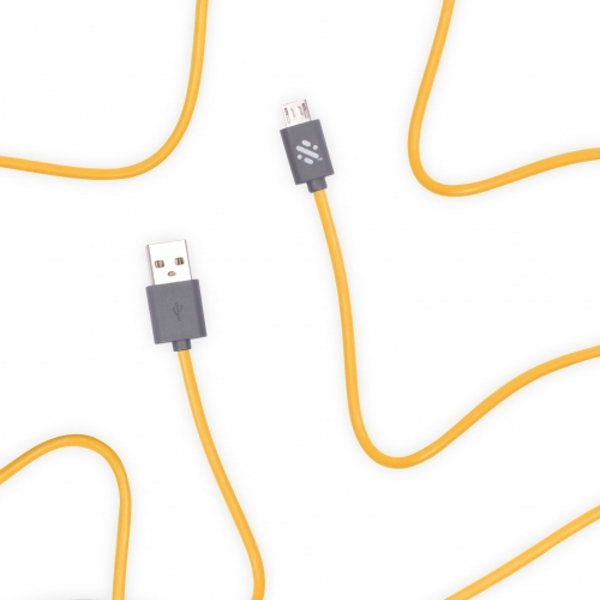 Swipe Link - Micro Charge & Sync Cable 1m - Yellow - Image 1