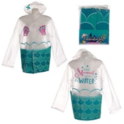 Mermaid One Size Large Raincoat
