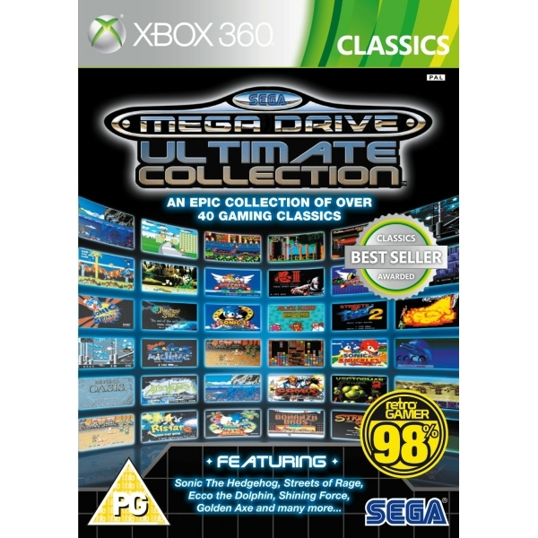 SEGA Mega Drive Ultimate Collection Game (Classics) Xbox 360 - Image 1