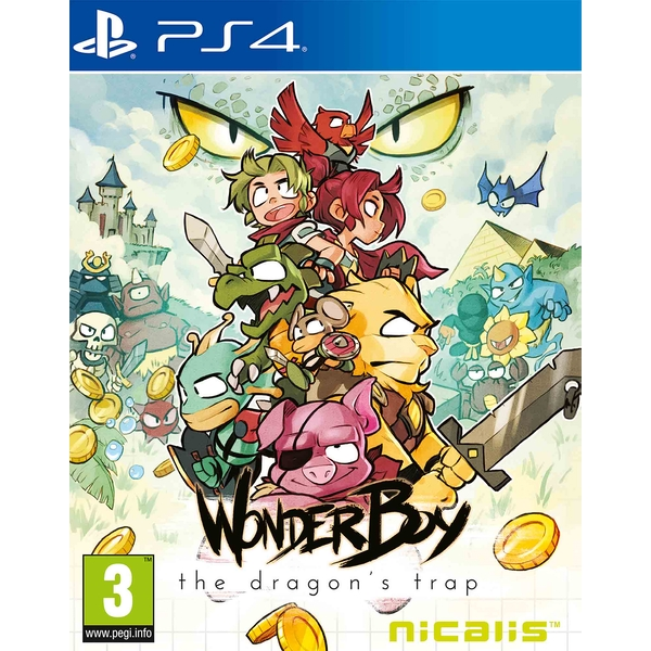Wonder Boy The Dragon's Trap PS4 Game (Inc Bonus Items) - Image 1