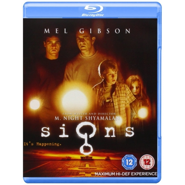 Signs Blu-ray