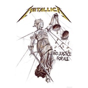 Metallica - And Justice for All Textile Poster