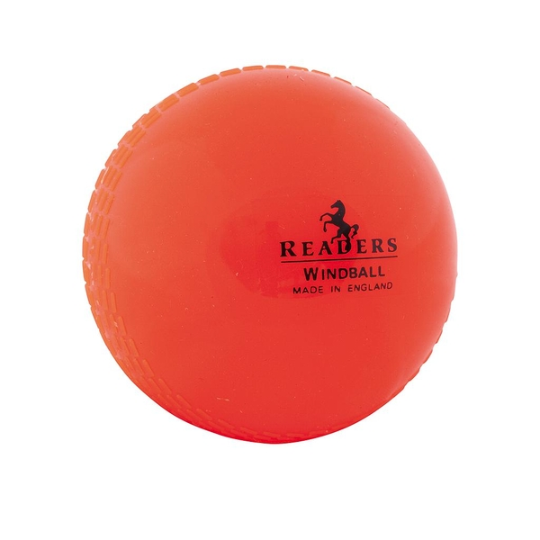 Readers Windball Training Cricket Ball Orange Youths