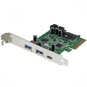 StarTech 5-Port USB 3.1 (10Gbps) Combo Card PCIe