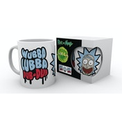 Rick and Morty Wubba Lubba Dub Dub Mug