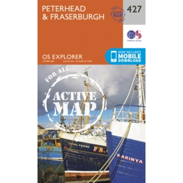 Peterhead and Fraserburgh b (Sheet map/active map, folded, 2015)