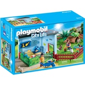 Playmobil City Life Small Animal Boarding with Hamster Wheel