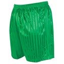 Precision Striped Continental Football Shorts 18-20 inch Green