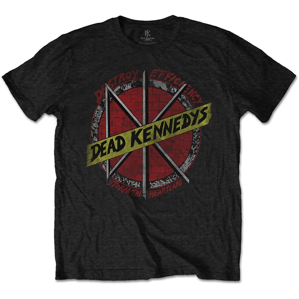 Dead Kennedys - Destroy Men's Small T-Shirt - Black