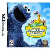 Sesame Street Cookies Counting Carnival Game DS (#)