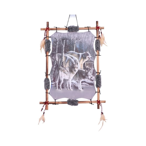 Strength in Numbers Wolf Pack Dreamcatcher