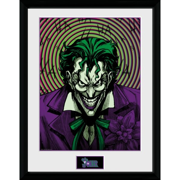 DC Comics - Joker Insane Collector Print