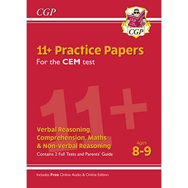 New 11+ CEM Practice Papers - Ages 8-9 (with Parents' Guide & Online Edition)  Paperback / softback 2019