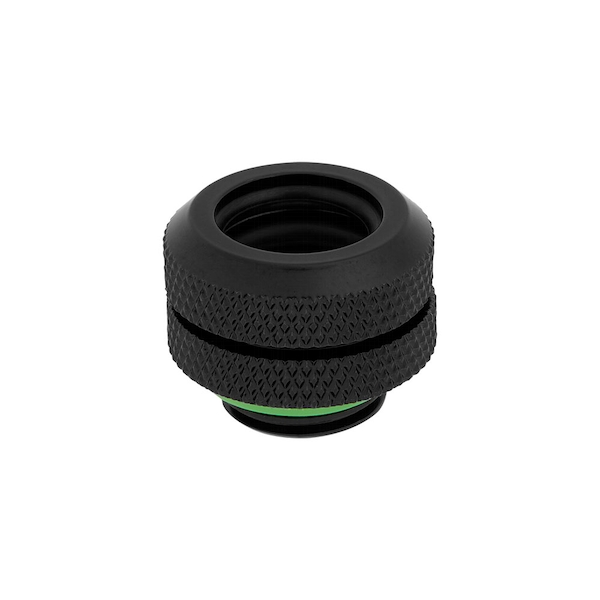 Corsair Hydro X Series XF Hardline 12mm Black Fittings - Four Pack (CX-9052001-WW)
