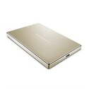 LaCie Porsche Design Mobile Drive 2000GB Gold external hard drive