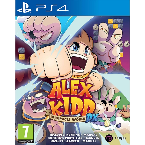 Alex Kidd in Miracle World DX PS4 Game