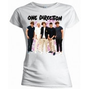 One Direction Flowers Skinny White TS: XL