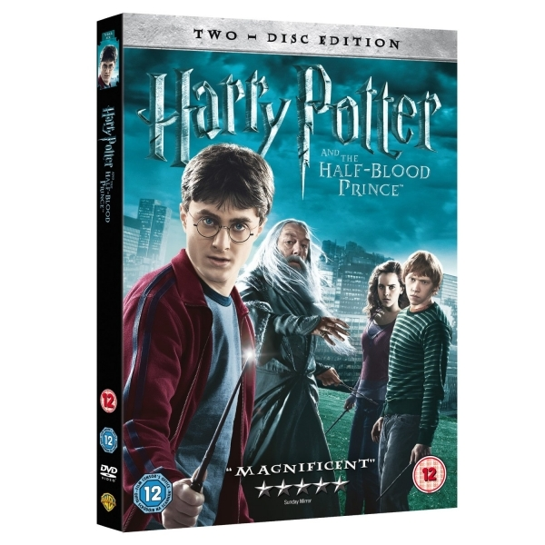 Harry Potter & The Half Blood Prince DVD