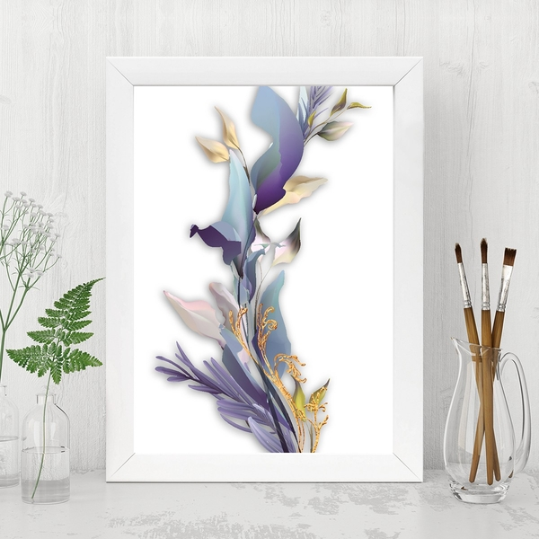 BC14815624822 Multicolor Decorative Framed MDF Painting