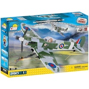 Cobi Small Army WWII Supermarine Spitfire Mk. VB Aircraft 290 Toy Building Bricks
