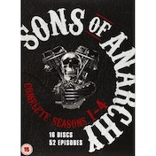 Sons Of Anarchy Series 1-4 Complete DVD