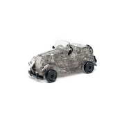 Ex-Display Funtime Gifts Crystal Puzzles Vintage Car (Grey) Used - Like New