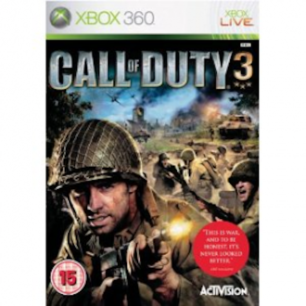 Call Of Duty 3 Game Xbox 360