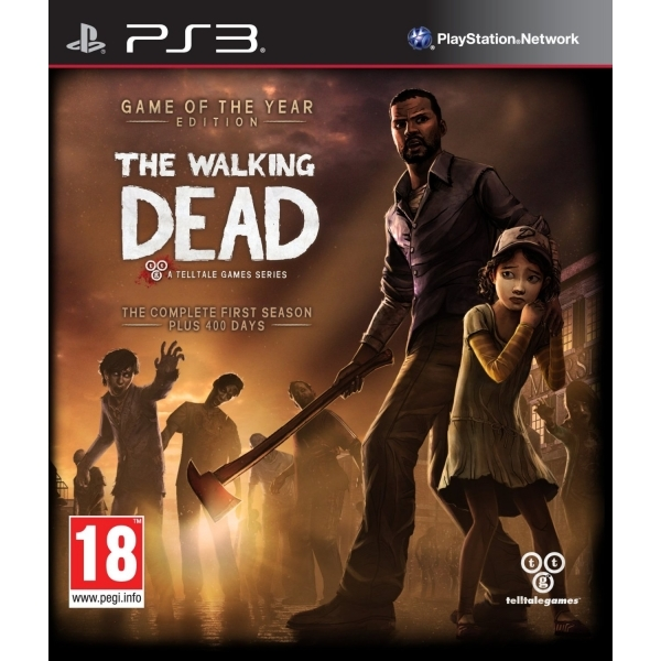 The Walking Dead TellTale Series Game of the Year (GOTY) Edition Game PS3