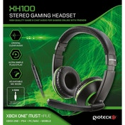 Gioteck XH100 Wired Stereo Gaming Headset Green (Xbox One/PS4/PC/WII U)