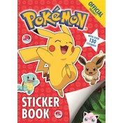 The Official Pokemon Sticker Book : With over 130 Stickers