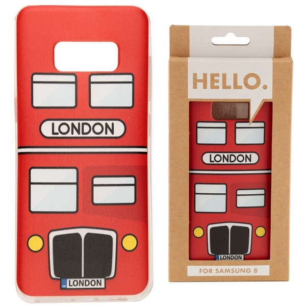 London Bus Samsung 8 Phone Case