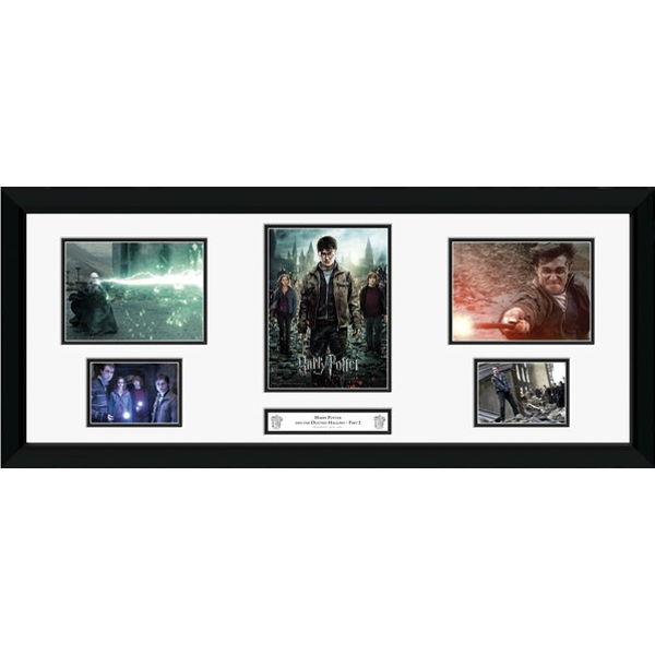 Harry Potter 7 Part 2 Storyboard Framed Photographic Print