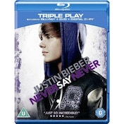 Justin Bieber Never Say Never Blu-ray & DVD & Digital Copy