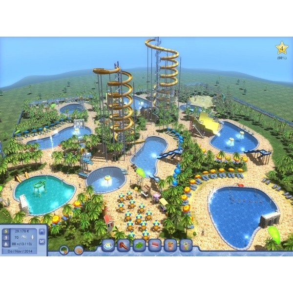 Water Park Tycoon PC Game - Digital Download Card - Image 5