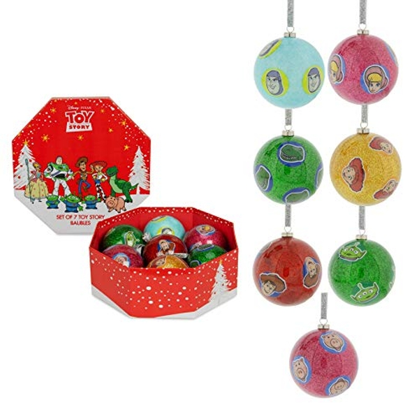 Disney Toy Story Set of 7 Baubles