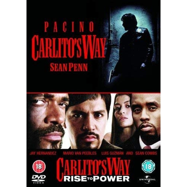 2 Film Collection - Carlitos Way + Carlitos Way - Rise to Power DVD