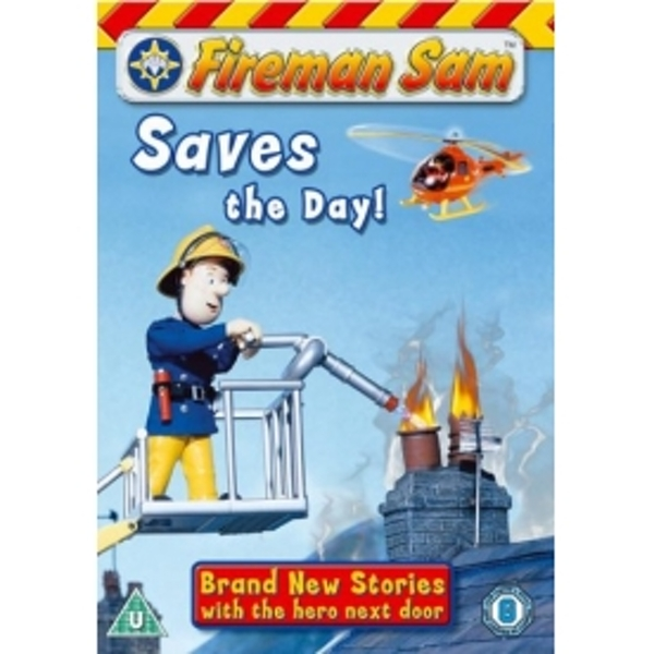 Fireman Sam Saves The Day DVD