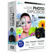 Ex-Display Photo Explosion 5.0 Deluxe PC Used - Like New