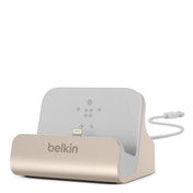 Belkin Charge and Sync Dock for iPhone 5/5c/5s/6 Gold