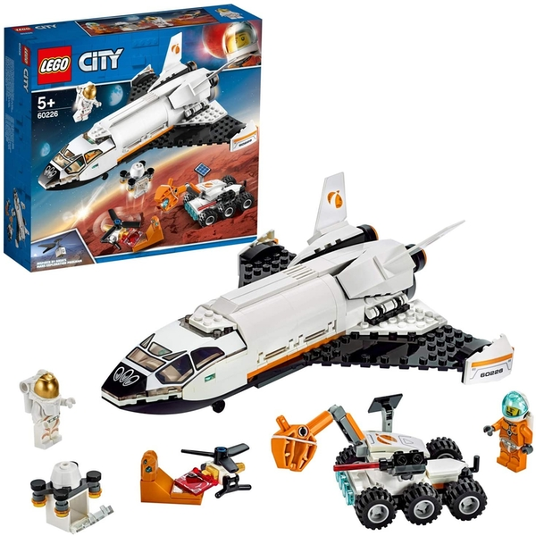 LEGO City Space Port: Mars Research Shuttle