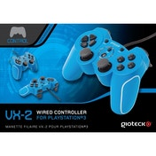 Gioteck VX-2 Wired Controller Blue for PS3