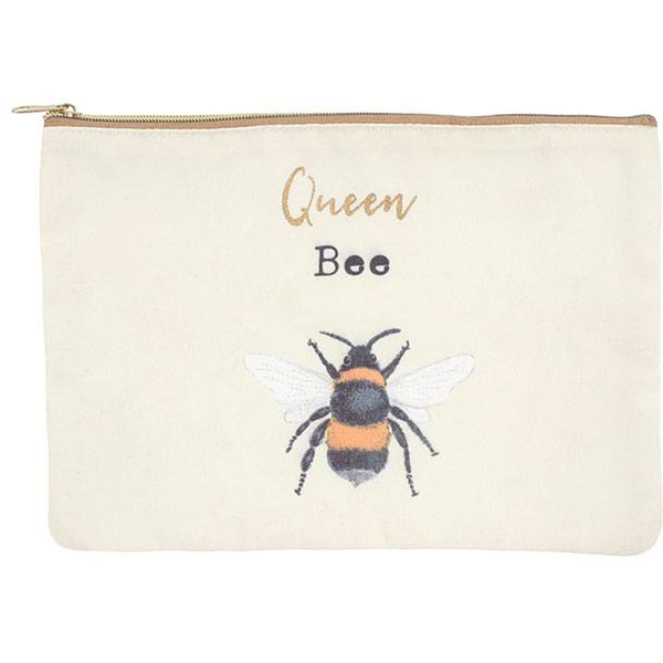 Queen Bee Makeup Pouch