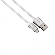 Hama Micro USB Colour Line Charging/Sync Cable (White) Aluminium 1m